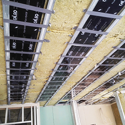 Ceiling Heating installation