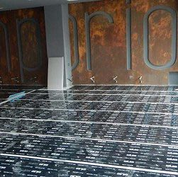 Floor heating installation 3